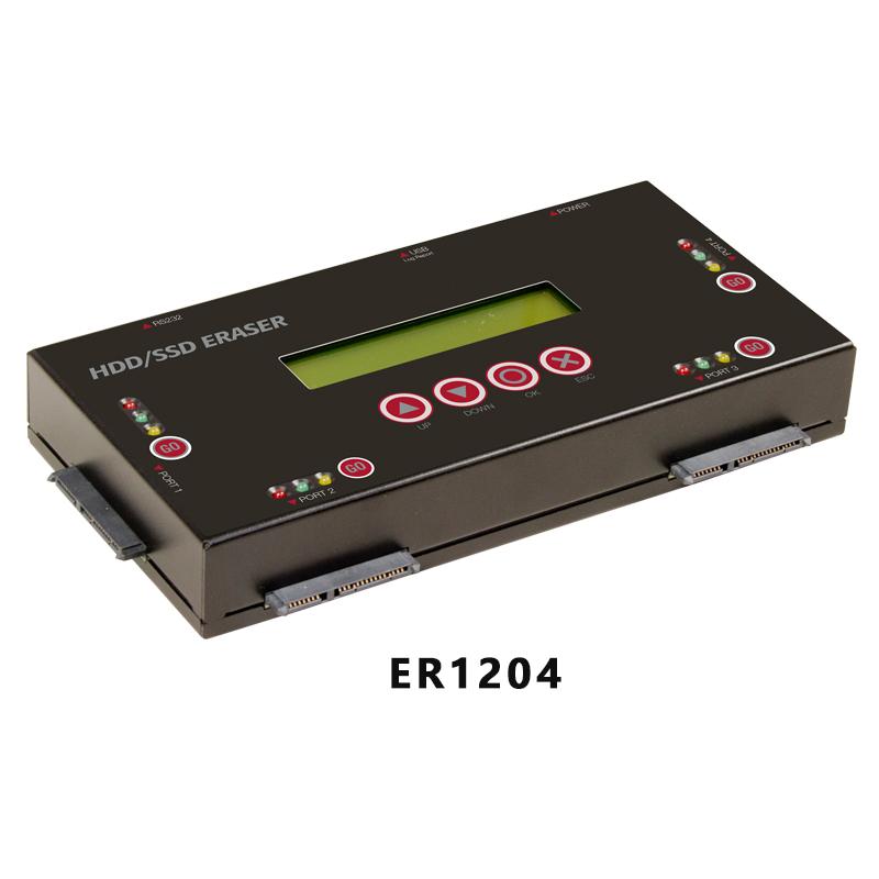 张家港ER1204 硬盘抹除机
